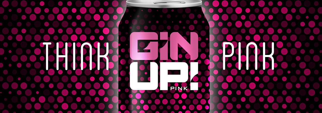 GIN UP PINK GIN BASED COCTAIL